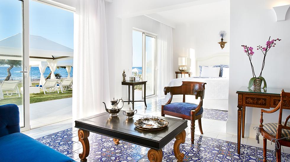 2 bedroom beach villa in Crete