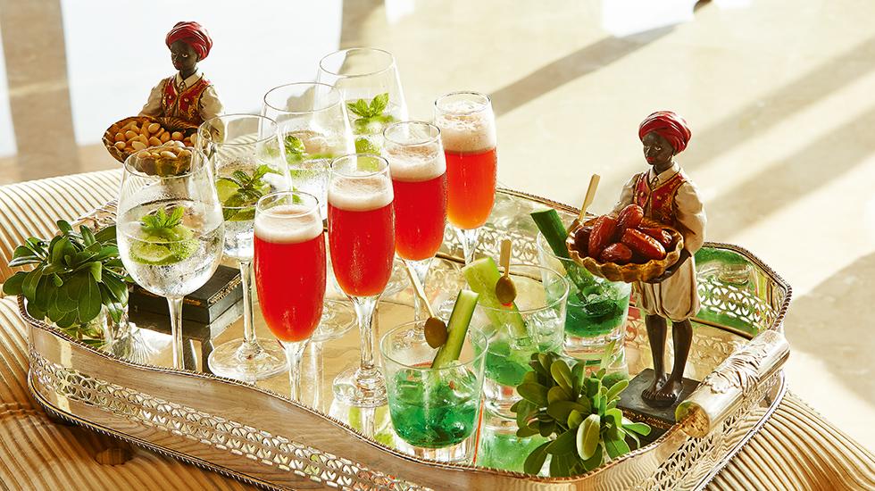 Caramel Refreshing Cocktails