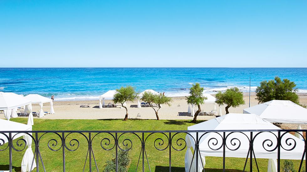 Caramel Hotel in Rethymno beach