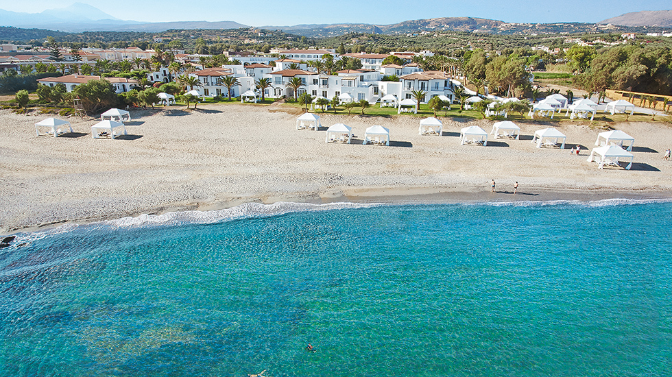 Luxury Beach Hotel Crete Greece