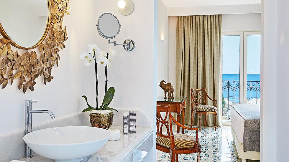 bathroom in bedroom 2 bedroom beach villas in crete caramel luxury resort