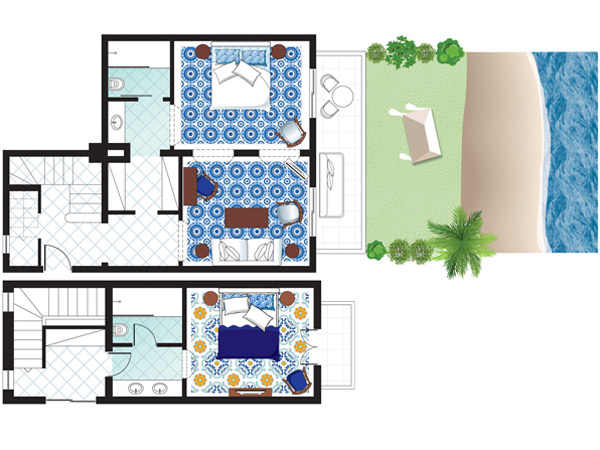 2-bedroom-beach-villa-floorplan