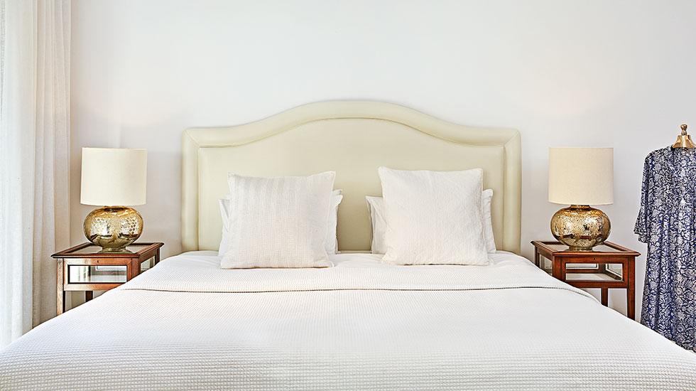 2 bedroom luxury villas with jacuzzi caramel luxury hotel Master bedroom with private garden