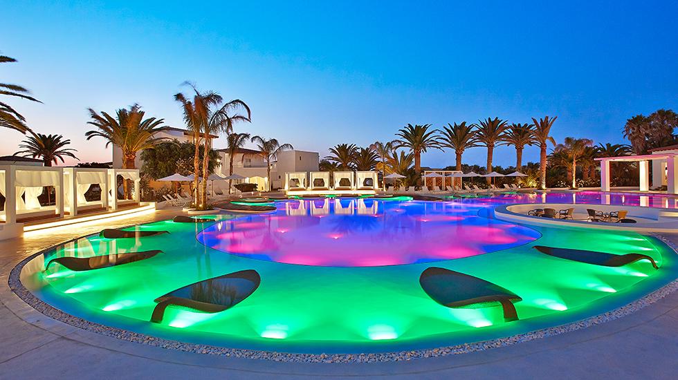 Konfetti Pool Lounges   Caramel Luxushotel, Kreta
