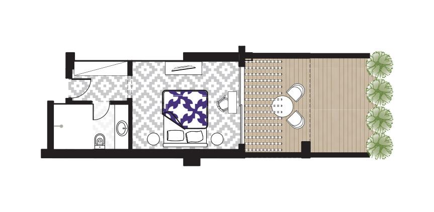 Junior-Suite-Sea-View-Caramel-Floorplan